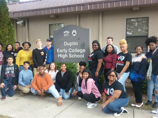 ECHS donates to Duplin Early College High School