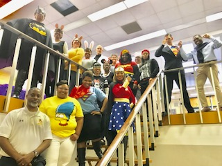 HCHS Spirt Week- Staff Character Day