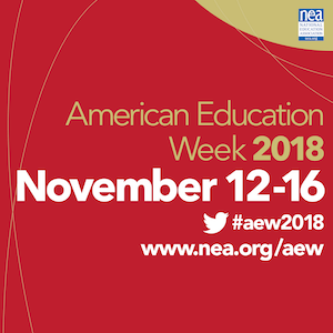 American Education Week - November 12-16, 2018