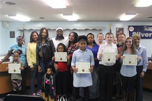 October 2018 Character Education Students with Parents