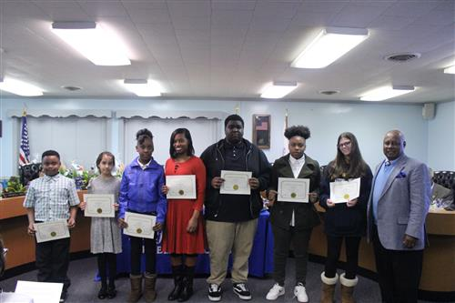 January 2019 Character Education Students - Courage